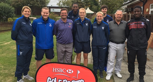 The Oaks Golf Centre teams up with Crystal Palace