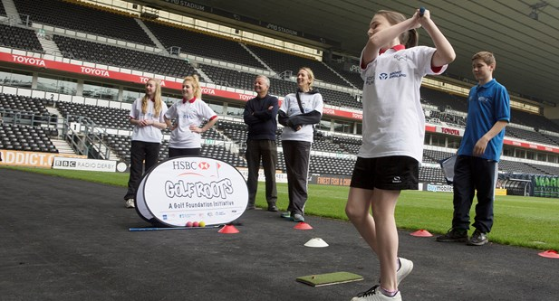 Premier League 4 Sport competition at Derby County FC