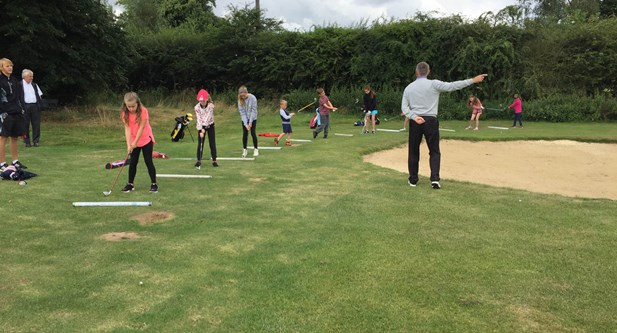 Coaching at Overstone Park GC