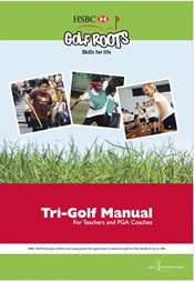 Front page of Tri-Golf Manual