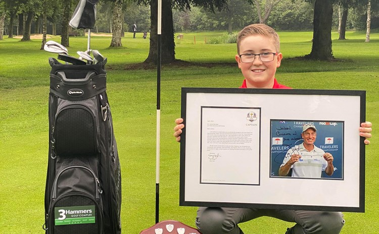 Jensen Berridge With Jim Furyk Award (Wecompress.Com)