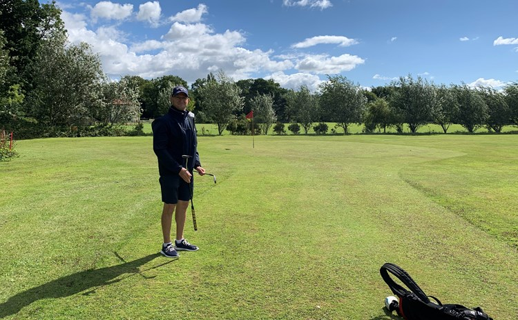 Nik Fox At Kenwick Park GC